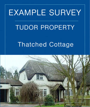 Tudor Listed Cottage Example Building Surveys